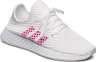 adidas Originals Deerupt Runner J Sneakers Skor Vit Adidas Originals