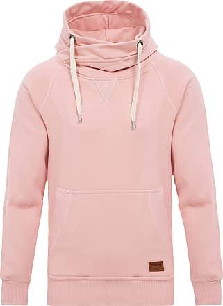 Yazubi Mens Hoody Hooded Sweatshirt Leo Soft Hoodie Big and Tall Sports Work Jumper Shirt Tops, Pink (Mellow Rose 151515), 3XL