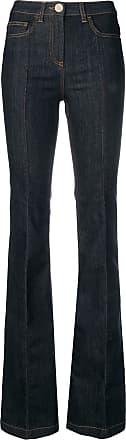 Elisabetta Franchi Calça jeans flare cintura alta - Azul