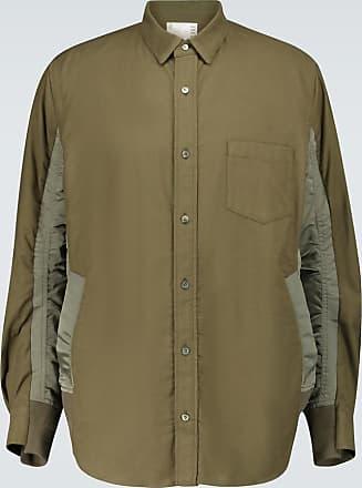 sacai Hemdjacke aus Baumwolle