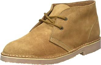 Roamers M467-CS/BS Unisex Suede Desert Boots - Sand - Size UK 8