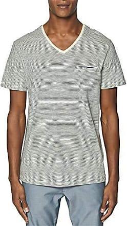 fff690cab9ac Esprit Herren 049Ee2K027 T-Shirt Weiß (Off White 110) XXX-Large (