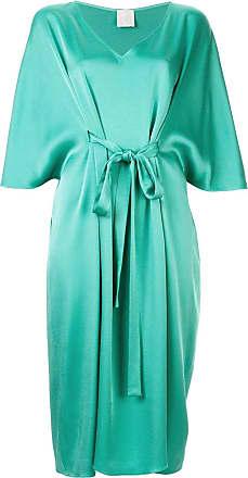 Ingie Paris tie detail dress - Verde