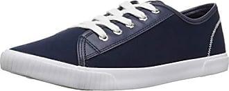Nautica Womens Lily Mae Sneaker, Navy Canvas, 8.5 Medium US