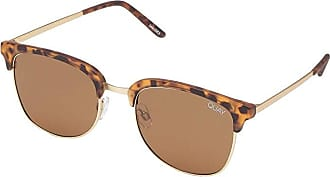 Quay Eyeware QUAYxBenefit Evasive (Matte Tortoise/Brown) Fashion Sunglasses