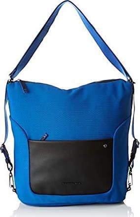 64041e6a8e Mandarina Duck Camden, Borsa a tracolla Donna, Blu/Classic Blue, 10x21x28.