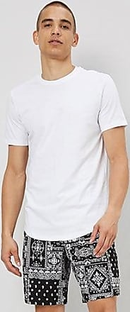 21 Men Jordan Craig Longline Tee at Forever 21 White