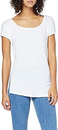 trueprodigy Casuale Donna Maglietta Uni Semplice Abbigliamento Urban Moda Collo V Manica Corta Slim Fit Classic Top Blusa Moda Vestiti