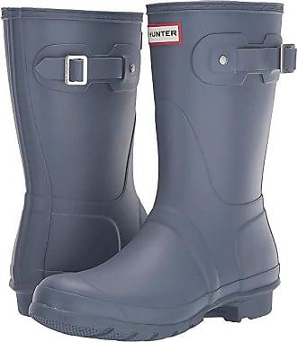 35f01085f823 Hunter Original Short Rain Boots (Gull Grey) Womens Rain Boots