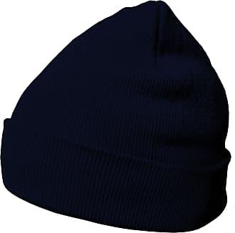 DonDon winter hat beanie warm classical design modern and soft dark blue