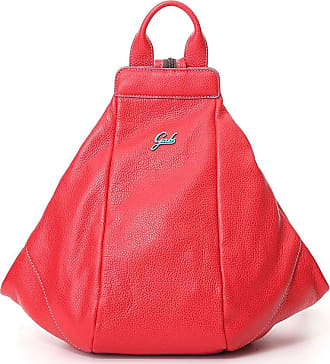 Gabs GABS Backpack Bag in glossy leather Size M GRETA Strawberry 2830T2 P0263 C4006 Made in Italy