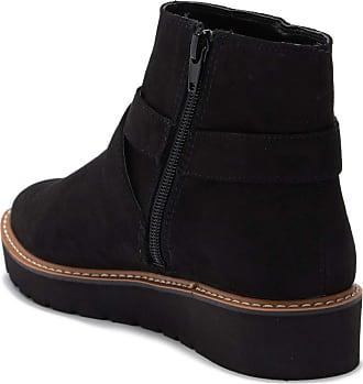 Naturalizer Womens Element Almond Toe Ankle Fashion, Black Fabric, Size 7.0 US / 5 UK US