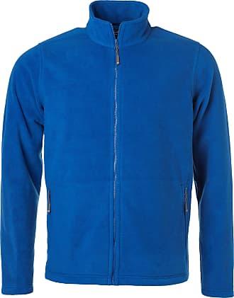 James & Nicholson JN782 Mens Fleece Jacket Royal XL