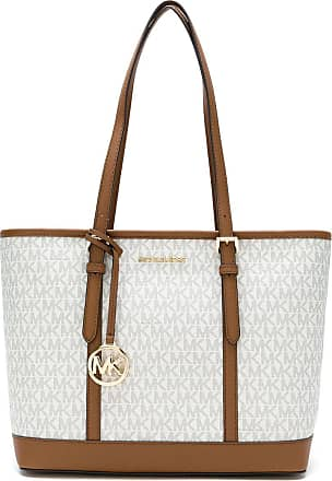 Michael Michael Kors Bolsa Jet Set Travel pequena - Neutro