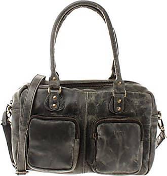 cb1f77d5cbaf3 Leconi Schultertasche aus Rinds-Leder Henkeltasche Damentasche für  Shopping