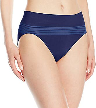 Warner's Womens No Pinching No Problems Seamless Panty, Navy Ink, Large