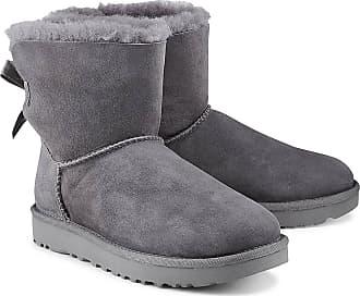 dc7aed678d UGG Mini Bailey Bow Ii in grau, Boots für Damen Gr. 36