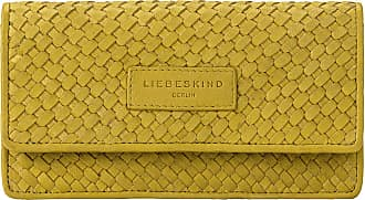 Liebeskind Santa Fe - Slam Wallet Large Womens Wallet, Green (Golden Olive), 2x10x19 Centimeters (B x H x T)
