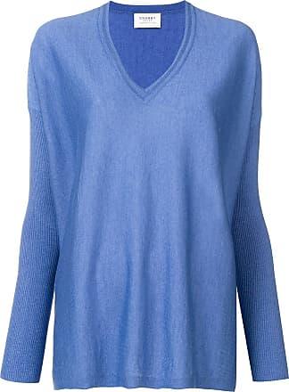 Snobby Sheep Suéter decote em V - Azul