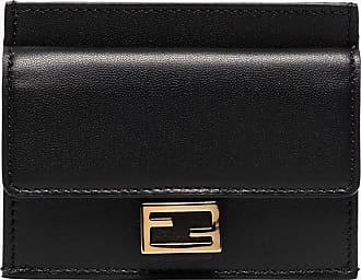 Fendi Baguette FF-embossed wallet - Preto