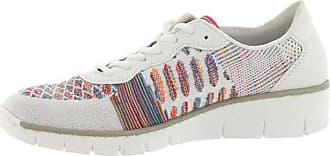 Rieker 537P4 Colour: White Combi (92), Size: EU38