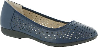 White Mountain Womens C28624-408 Carrie Flat Blue Size: 4.5 UK
