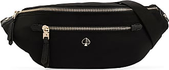 Kate Spade New York Pochete com placa de logo - Preto