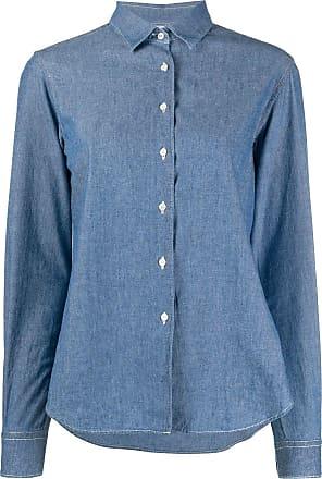 Aspesi Camisa jeans - Azul