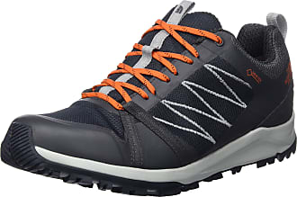 The North Face The North Face Mens M Litewave Fastpack II GTX Low Rise Hiking Boots, Brown (Ebony Grey/Scarlet Ibis C49), 9.5 UK (44 EU)