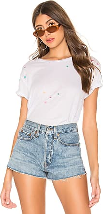 Chaser Pastel Mini Stars Tee in White
