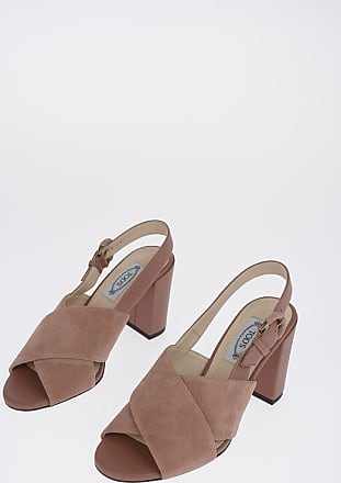 Tod's 8cm Suede Leather Mules size 36,5