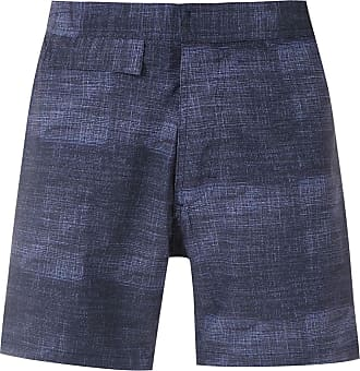 Amir Slama printed shorts - Blue