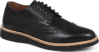 Jones Bootmaker Casual Leather Derby Brogue Black