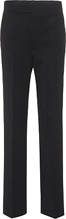 Helmut Lang Zipper-trimmed wool-blend trousers