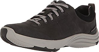 d85e3894bc45 Clarks Womens Wave Andes Walking Shoe Black Nubuck 9.5 W US