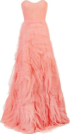 Marchesa long tulle dress - PINK