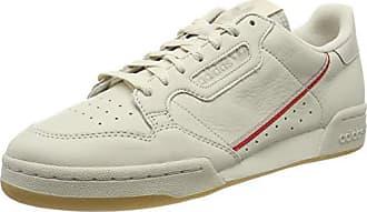 adidas Herren Continental 80 Gymnastikschuhe Braun Clear Brown/Scarlet/Ecru Tint S18)