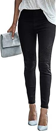a25d84e310 Yidarton Damen Mode Freizeithose Stretchhosen Elastisch Hohe Taille  Einfarbig Tights Jeggings Bleistifthosen Skinny Hose Leggings Joggers