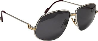 7e849a01cfc Cartier New Vintage Cartier Panthere 59mm Platine Heavy Plated Sunglasses  France 18k