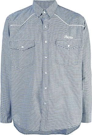 Palace Camisa gingham - Azul