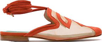 Blue Bird Shoes Slip on Rubem Valentim tela - Laranja