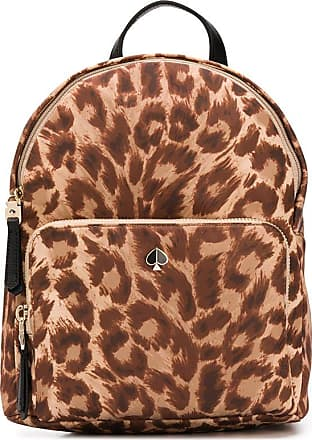 Kate Spade New York Mochila com estampa de leopardo - Marrom