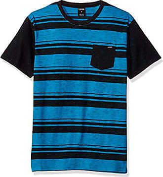 Zoo York Mens Short Sleeve Crew Shirt with Front Pocket, Lego Aqua, Large