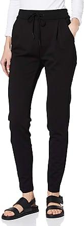 Vero Moda Womens Vmeva Mr Loose String Pants Noos Trouser, Black, W22/L30 (Size: Large)
