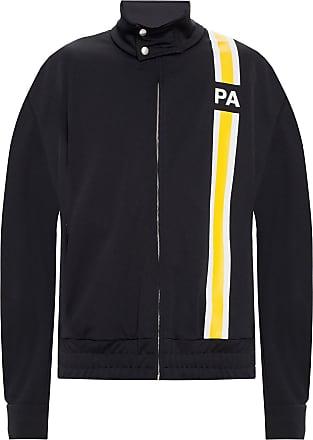 Palm Angels Sweatshirt With Logo Mens Black
