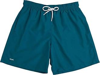Mash Shorts de praia Mash LISO C/BORDADO MASH Masculino Verde Petroleo GG