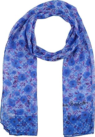 Esprit Melange Scarf Sciarpa accessorio LIGHT BLUE BLU NUOVO