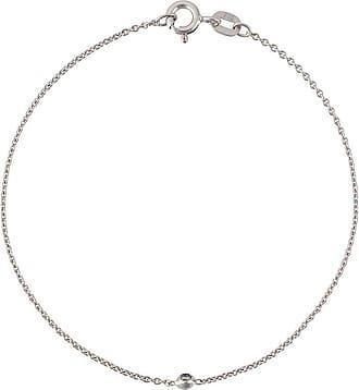 Wouters & Hendrix 18kt white gold single diamond bracelet - Metallic