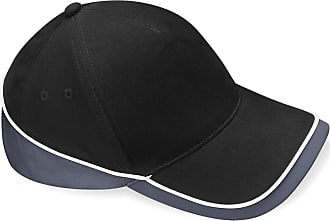 Beechfield Teamwear Competition Cap in Black / graphite grey