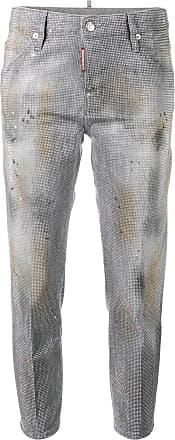 7dd1c23092b7 Dsquared2 Cool Girl Swarovski crystal jeans - Grey